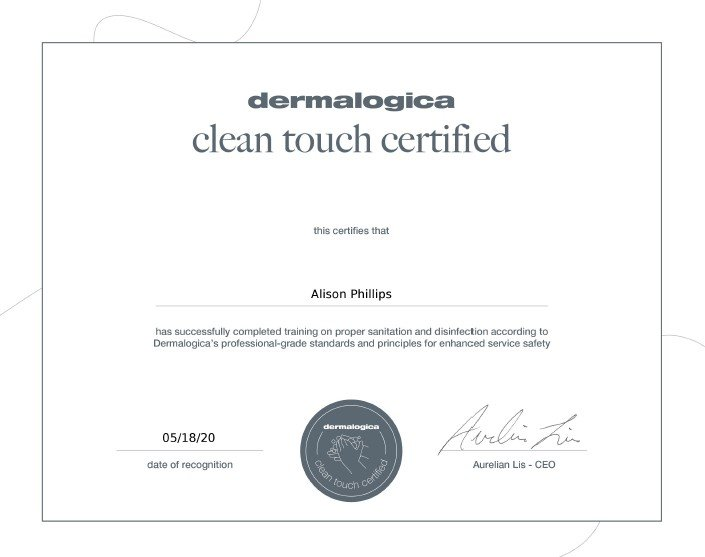 Clean Touch Certification
